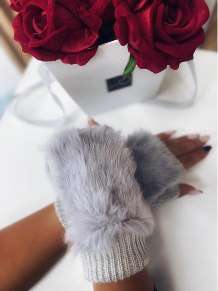 Rękawiczki  Z  Futerkiem...