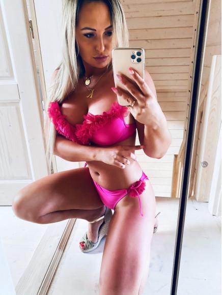 Góra  Bikini  Model Xuxa Pink