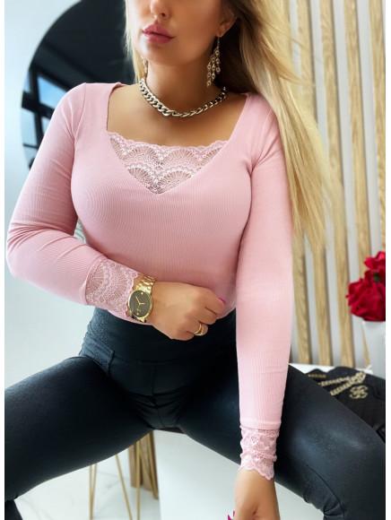Bluzka  Clarisa  Pink  709