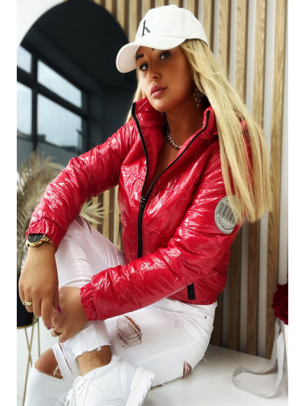 Kurtka  Fashion  Czerwona  699