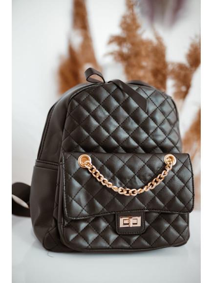 Plecak  Pikowany  Black  729